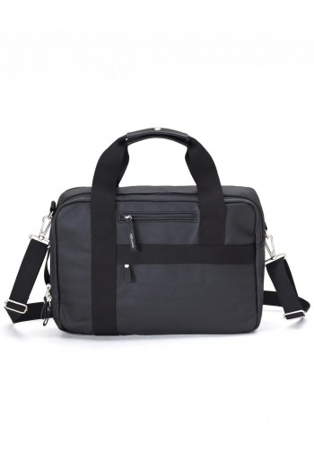 qwstion office bag organic jet black
