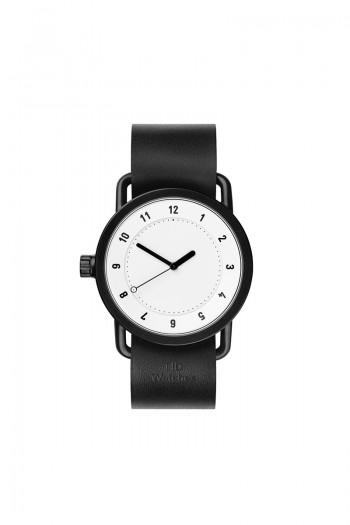 TID No1 White Black Leather
