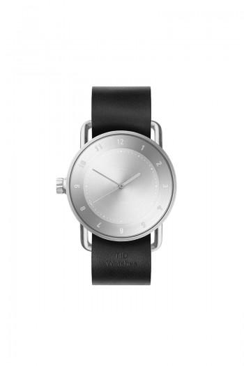 TID No2 Black Leather Wristband