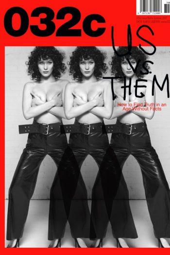 032c magazine issue 32 bella hadid
