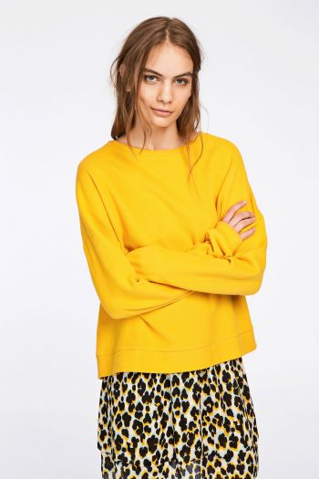 yellow samsoe samsoe sweater