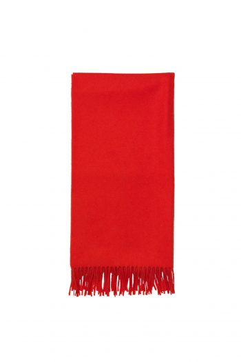 samsøe accola maxi scarf high risk red