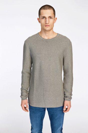 samsøe samsøe davidson knit grey melange