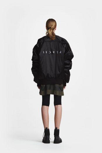 Odeur Grand Bomber Jacket black