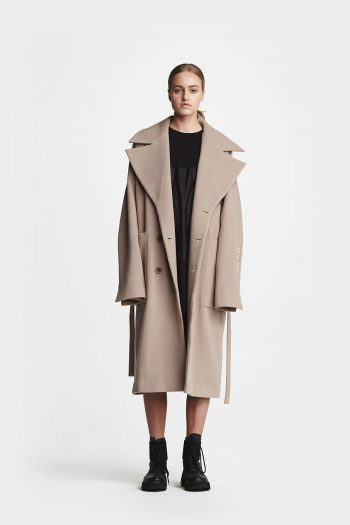 Odeur Over Coat sand rose