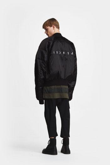 Odeur Studios Grand Bomber Jacket black