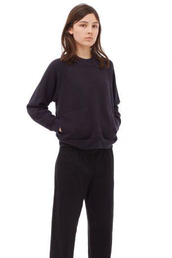 YMC Touche Pocket Sweat black