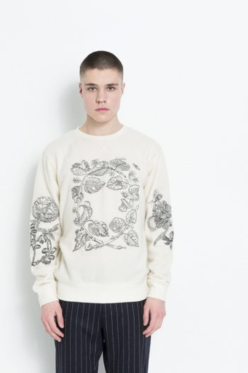 Soulland Damian Sweatshirt Off-White