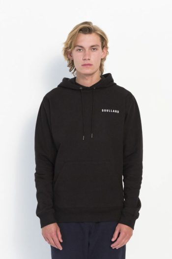 Soulland Wallance Sweat Pocket Black