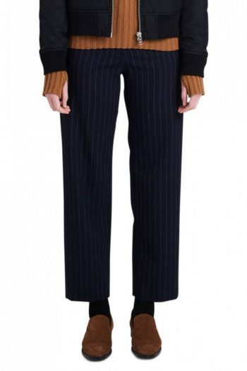 Wood Wood Althea Trousers navy stripe