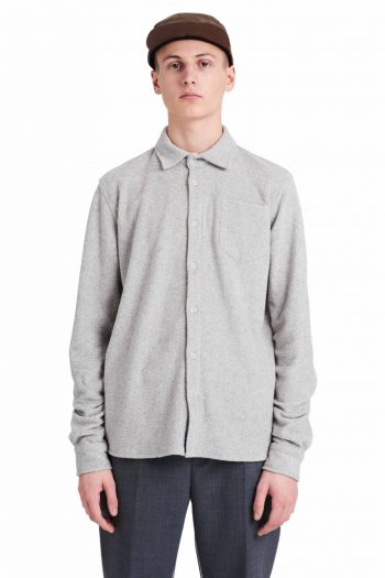 Wood Wood Oval shirt light grey