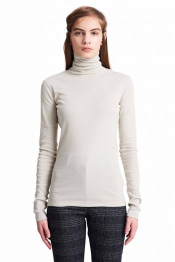 Wood Wood Rosalyn Turtleneck beige