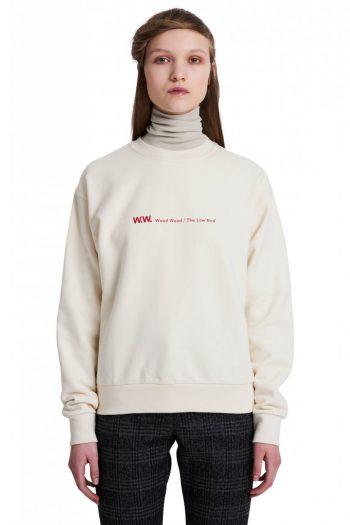 Wood Wood Tara Sweatshirt off white