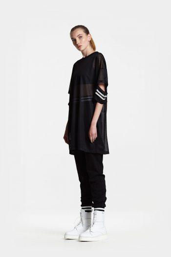Odeur Studios Slit T-shirt mesh
