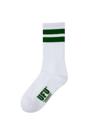 Used Future UFU Stripe Socks in green