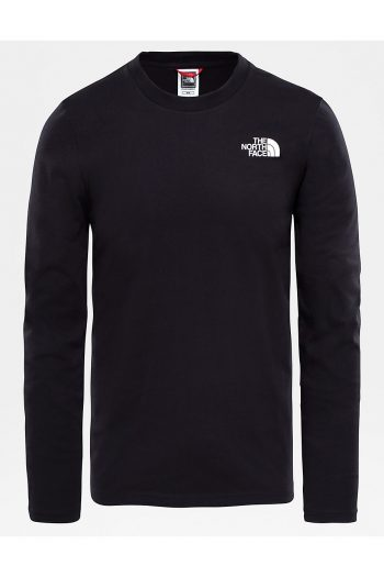 The North Face Easy Long-Sleeve Shirt in black
