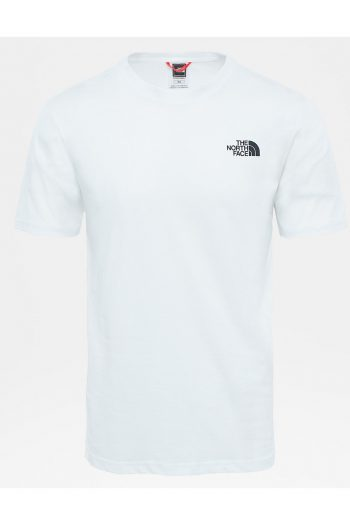 The North Face Red Box T-shirt in white