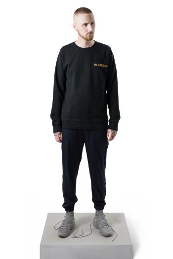 Han Kjobenhavn Casual Crew in black