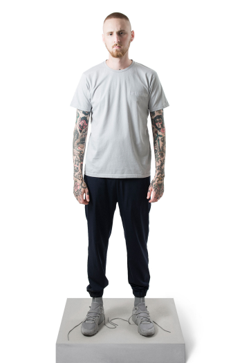 Han Kjobenhavn Casual Tee Artwork in grey