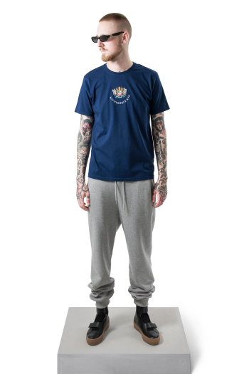 Han Kjobenhavn Casual Tee Artwork in navy