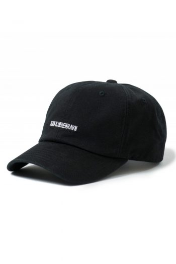 Han Kjobenhavn Cotton Cap in black