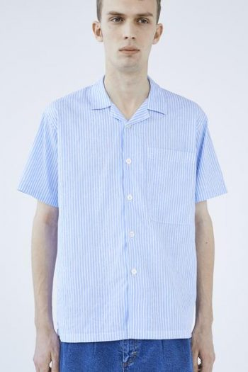 mfpen Camp Paisley Shirt in light blue