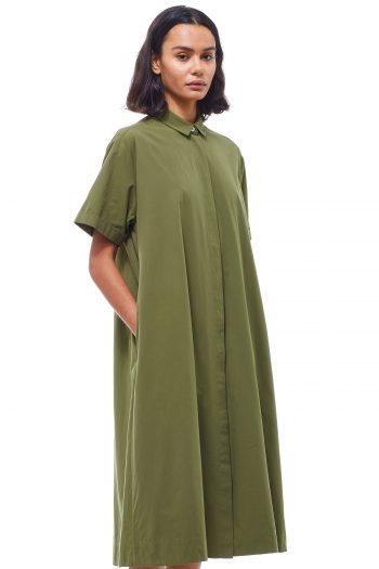 YMC Joan Dress olive